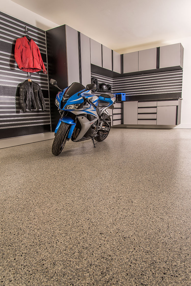 Dolphin Flake Epoxy Flooring. Floor Coatings   GarageExperts of El Dorado