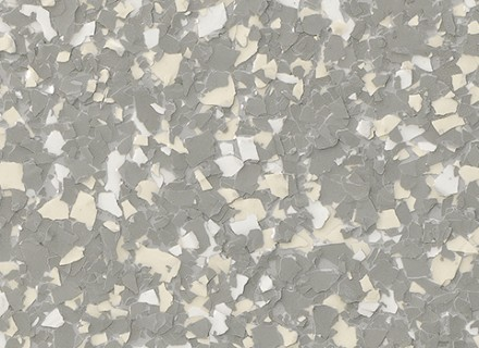 1-4 Inch Flake_light grey