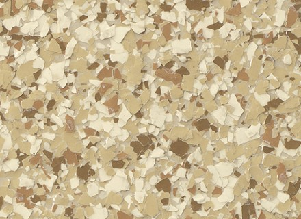 1-4 Inch Flake_medium tan
