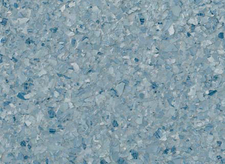Brindle Blend Flake 1-4 Inch_maui blue