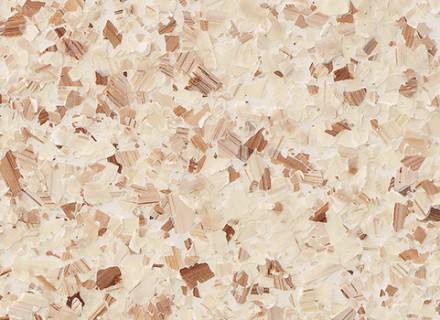 Brindle Blend Flake 1-4 Inch_rose