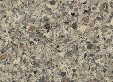 Brindle Blend Flake 1-4 Inch_sable